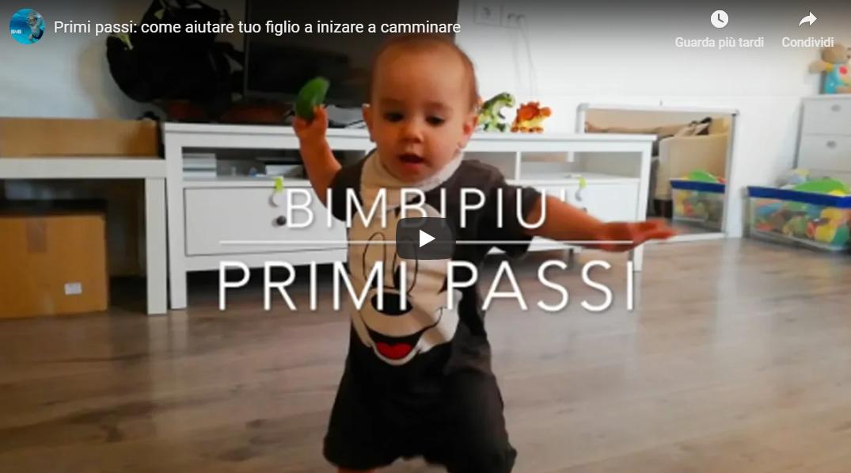 PRIMI PASSI: come aiutare tuo figlio ad iniziare a camminare