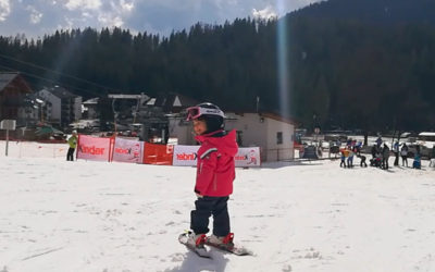 Sciare prima dei 3 anni: come iniziare
